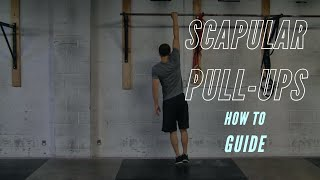 Video: BreakingMuscle.com - Melody Schoenfeld: How to Do Scapular Pull-Ups