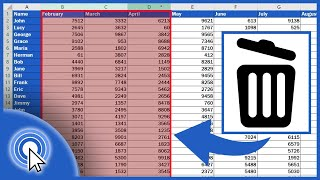 How to Delete Columns in Excel