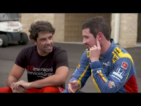Indy 500 Winner Alexander Rossi Tests New F3 America Car with Rafa Matos