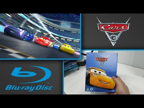 Disney Pixar Cars 3 Limited Edition Blu Ray Unboxing