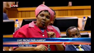 EFF Not Allowing President Zuma To Answer Questions In Parliament