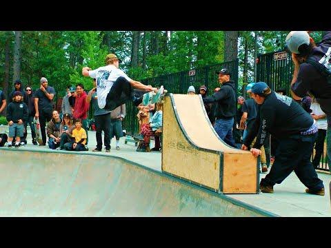 Northern California Skateboarding Contest! ( Condon Skatepark )