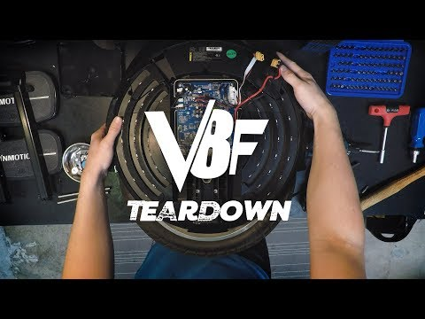 InMotion V8F Disassembly For Repair and Tire Change