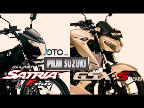 Pilih Suzuki Satria F150 atau GSX-S150 I OTO.Com