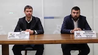 МЛК. Пресс - конференция МХК «AQTÓBE» - МХК «QYRAN», игра № 31