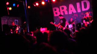 Braid - Consolation Prizefighter live at Slim's on 8/19/12