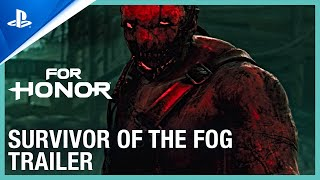 PlayStation For Honor - Survivors of the Fog Halloween Event Trailer | PS4 anuncio