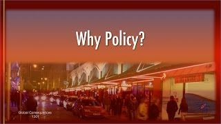 Why Science & Technology Policy