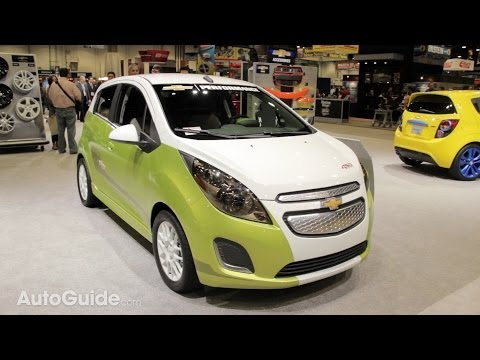 Chevy Spark EV Tech Performance Concept - 2013 SEMA Show