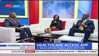 Morning Express - 14th December 2017 - Tech Central: Healthcare Access App