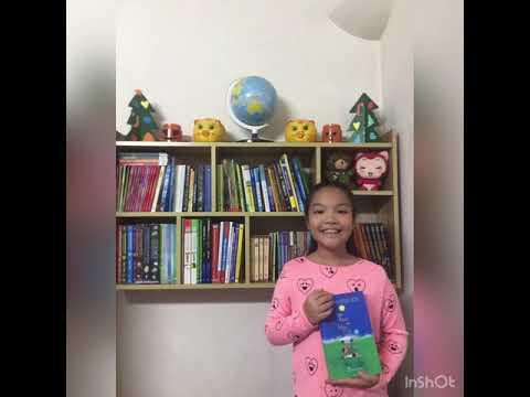 """MS 05: Nguyễn Ngân Giang - Lớp 4A4 Trường TH Kim Đồng. Giới thiệu sách """"Làm bạn với bầu trời"""""""