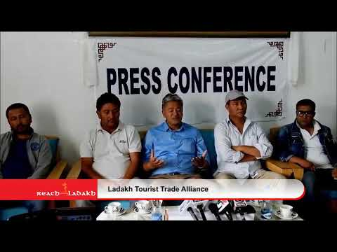 Press Conference: Ladakh Tourist Trade Alliance
