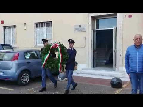VENTIMIGLIA RICORDA SEBASTIANO CARPINETA, CHE PERSE LA VITA IN SERVIZIO AL VALICO DI FRONTIERA