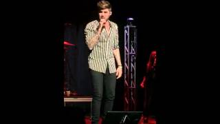 Adam Lambert (Lucy) it's either about a whore or it's a cautionary tale