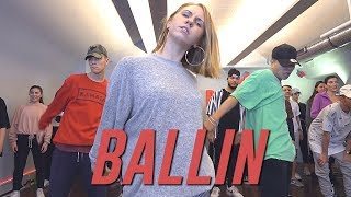 "The Kudu ""BALLIN"" (ft. Mechi Pieretti) Choreography By Duc Anh Tran"