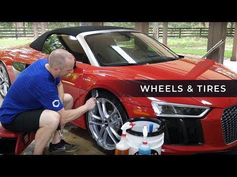 Audi R8 Correction Series: E1 - Wheels