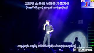 Kim Hyun Joong - one more time myanmar sub