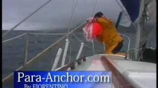 Parachute Sea Anchor for a MONOHULL GALE Deployment
