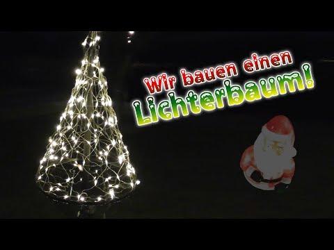Wir bauen einen Lichterbaum!