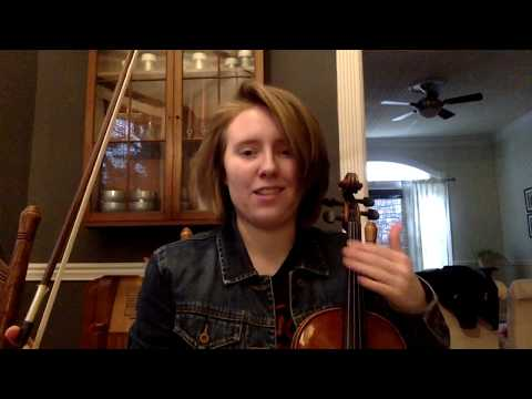 A quick demonstration of an Eb Major Scale used for a beginning viola student