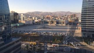 Brainstorm LLC, ICC tower, Sukhbaatar Square Time Lapse