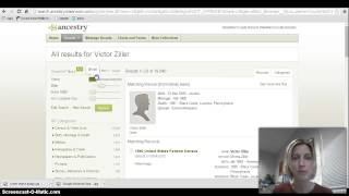 Ancestry.com Introduction screencast