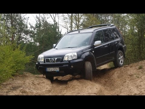 Nissan Xtrail offroad on sand II