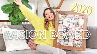 Day In The Life   Creating My 2020 Vision Board, What I Eat & More!