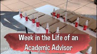 Week in the Life of an Academic Advisor
