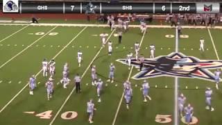 Football vs. Greenwood 9/7/18
