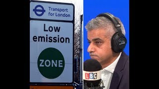 Caller Tells Sadiq Khan His Green Policy May Put Him Out Of Business