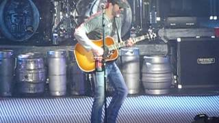 Eric Church--How 'Bout You  Binghamton, NY.   March 15, 2012