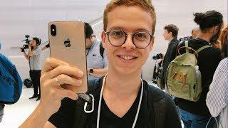 Probando los nuevos iPhone Xs Max, Xr y Apple Watch 4!!!!