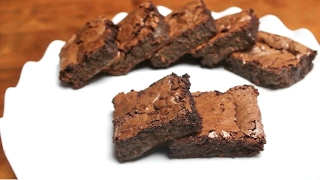 easy homemade chocolate fudgy brownies