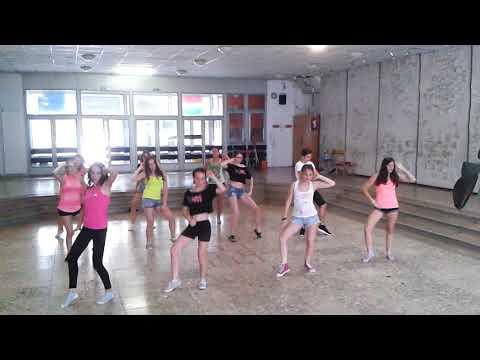 2017-es tánctábor - Haladó zumba turnus: Közös koreográfia