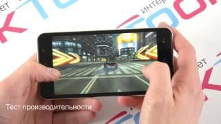 Смартфон HOMTOM HomTom HT16 (Blue) от компании Cthp - видео