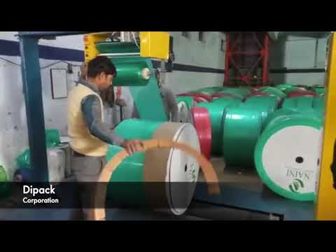 Radial Paper Reel Wrapping Machine