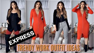 TRENDY FALL WORK OUTFIT IDEAS & STAPLES YOU NEED
