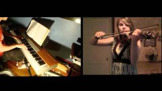 Disney - The Little Mermaid - Part of Your World (violin, piano) - FT. ViolinTay!