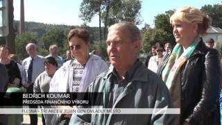 Plesná: Tři akce vjeden den ovládly město (TV Západ)