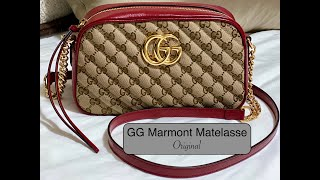 UNBOXING MY FIRST GUCCI BAG! | GG Marmont 2.0 Small Matellase In Original Canvas