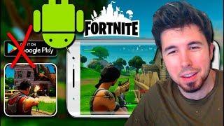 "📲 FORTNITE NO Saldrá en ""GOOGLE PLAY"" (Android)"