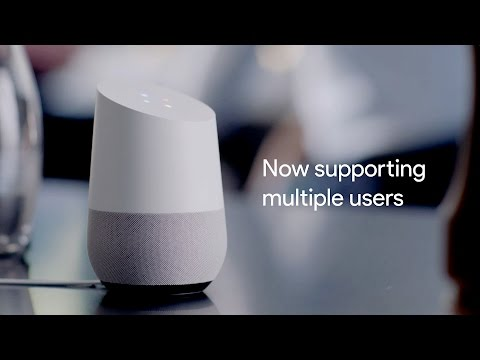 Google Home Now Supports Multiple Users And Can Recognise Your Voice