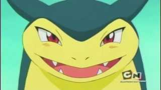 Typhlosion  - (Pokémon) - Typhlosion Laughs from Pokemon Chronicles Episode1