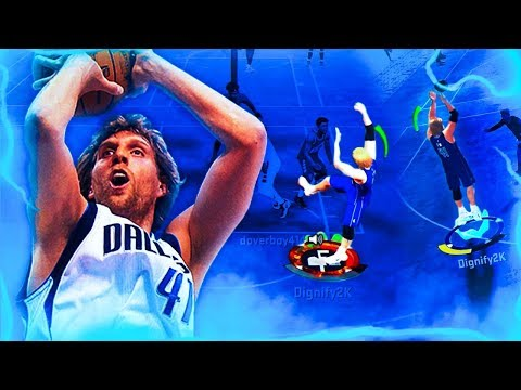 99 OVERALL DIRK NOWITZKI'S *GLITCHY* POST MOVES ARE UNGUARDABLE! BEST NBA 2K20 POST SCORER BUILD