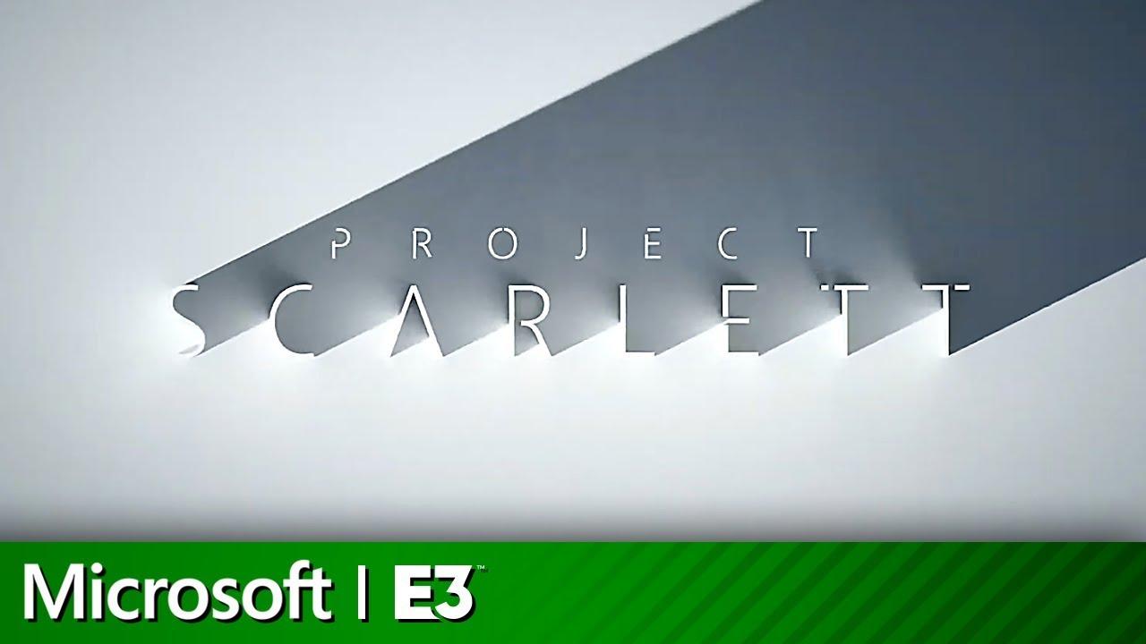 Xbox Project Scarlett Console Announcement  | Microsoft Xbox E3 2019 Screenshot Download