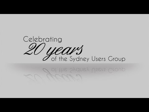 Video: Celebrating our first 20 years – Sydney .NET User Group