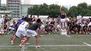 2014 東福岡高校体育祭【部活対抗リレー】ガチ組!