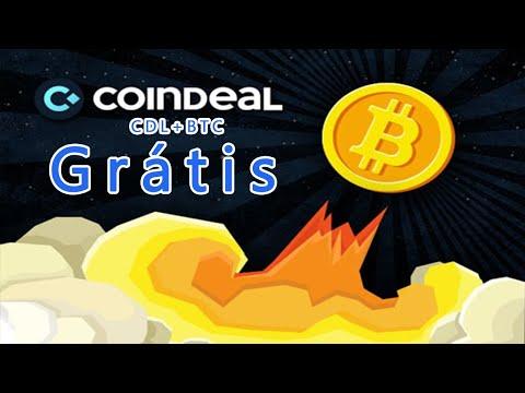 Ganhe Bitcoins + Tokens CDL Grátis dentro da Exchange CoinDeal. IMPERDÍVEL !! 🚀