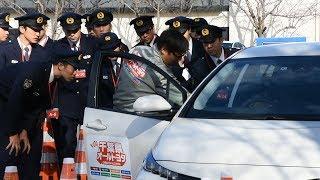 警察官らサポカー体験 事故の捜査や抑止に活用へ 千葉県警